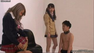 Japanese Femdom Face Trample and <strong>Humiliation</strong>