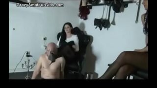 Mistress' trampling, kicking and <strong>humiliating</strong>