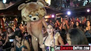 34 Nuts! Milfs go cock crazy at cfnm party19